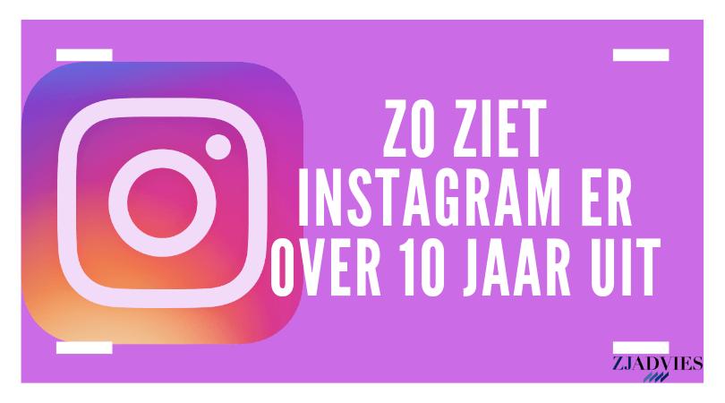 Zo ziet Instagram er over 10 jaar uit